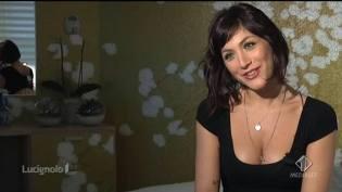 Foto primo piano della tentatrice Natalia Angelini