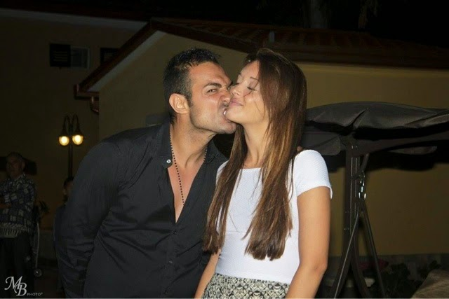 Foto di Leonardo Greco insieme con Diletta Pagliano ex tronista della trasmissione Uomini e donne