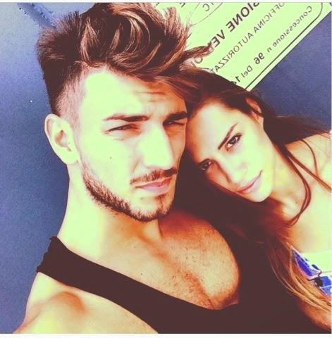Foto di Marco Fantini con la sua Beatrice Valli
