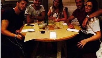 Gabriele Caiazzo e Sonia Carbone di nuovo a cena insieme