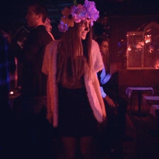 Rama Lila Giustini di Uomini e donne travestita per Halloween
