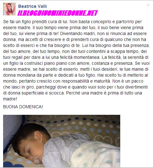 Beatrice Valli incinta annuncio su Instagram