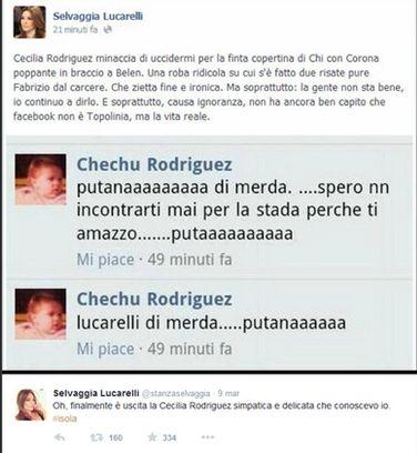 scontro Cecilia Rodriguez e Selvaggia Lucarelli