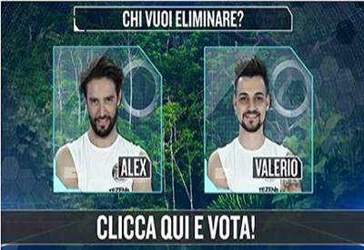 Alex Belli contro Valerio Scanu