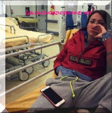 Valentina Rapisarda in ospedale ecco il motivo