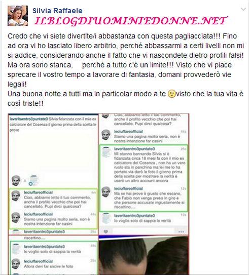 Silvia Raffaele risponde annunciando denuncia