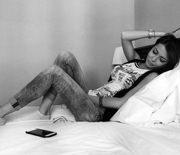 Foto di Valentina Rapisarda dopo l'operazione al seno