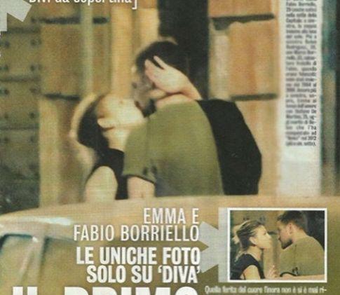 Emma Marrone e Fabio Borriello baci rubati