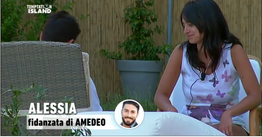 Alessia Messina e i dubbi su Amedeo Andreozzi