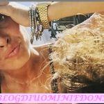 Valentina Rapisarda e Andrea Cerioli in vacanza in Sicilia