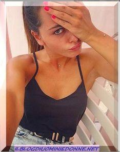 Silvia Raffaele al mattino appena sveglia