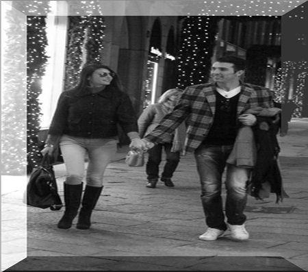Ilaria d'Amico incinta passeggia con Gigi Buffon