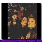 Ludovica Valli con le amiche