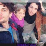 Tommaso Elia con la sua famiglia