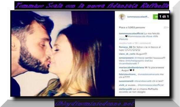 Tommaso Scala e Raffaella fidanzati