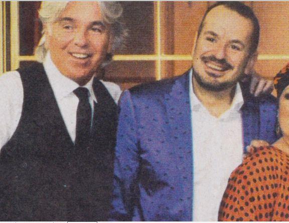 Fabio Canino con Zazzaroni