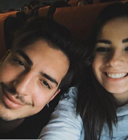 Eleonora Rocchini e Oscar Branzani si scambiano messaggi d'amore IG