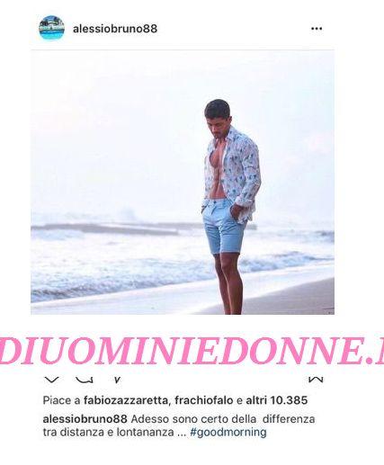 Alessio Bruno fa capire che con Valeria Bigella dopo Temptation Island è finita