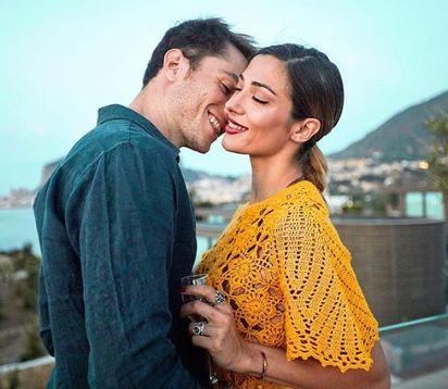 Marco Cartasegna e Soleil Sorge in vacanza