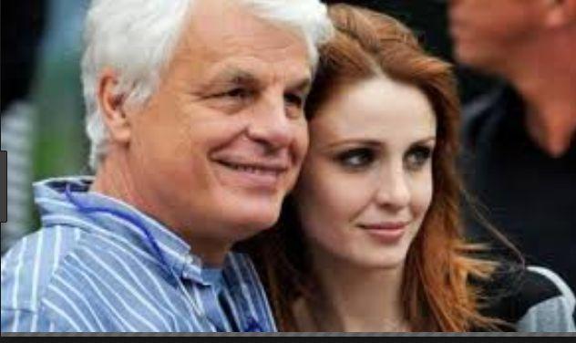 Attore Michele Placido con la moglie
