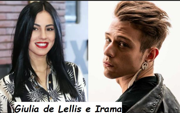 Giulia de Lellis, con il fidanzato Irama