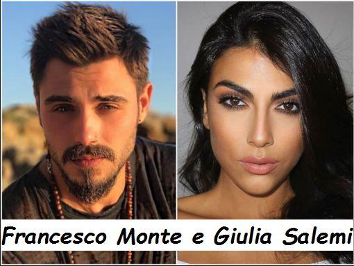 Francesco Monte e Giulia Salemi si dichiarano amore