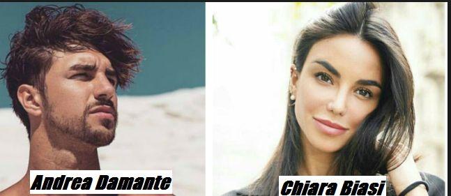 Andrea Damante e Chiara Biasi hanno iniziato a frequentarsi?