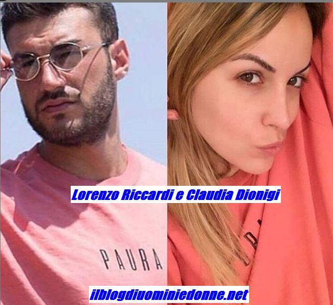 Lorenzo Riccardi e Claudia Dionigi con lla stessa maglia