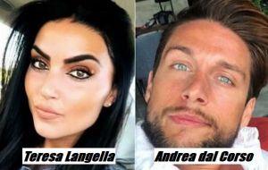 Andrea dal Corso e Teresa Langella è veramente nato l'amore, il perdono del padre