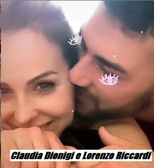 Claudia Dionigi e Lorenzo Riccardi