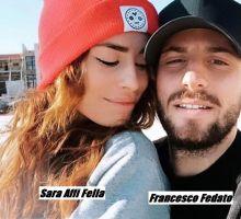 Sara Affi Fella e il nuovo fidanzato Francesco Fedato