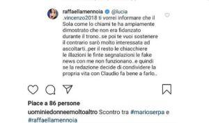 Raffaella Mennoia difende Claudio Sona e il trono Gay di Uomini e donne