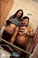 Veronica Burchielli incinta di Alessandro Zarino