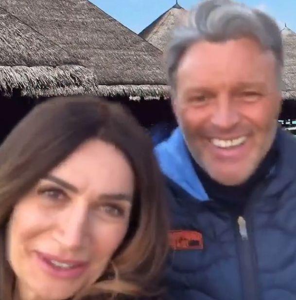 Barbara de Santi con Maurizio Guerci