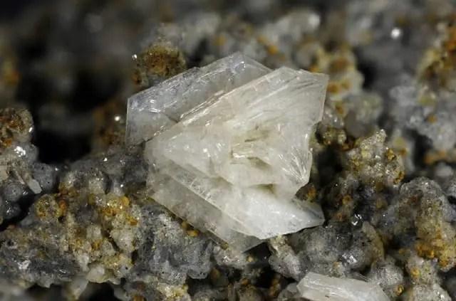Esempio di cristallo di tridimite