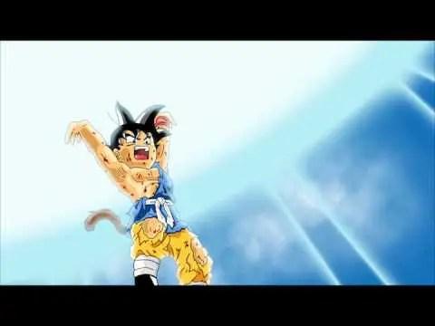 """La Genkidama o """"Energia Sferica"""" che conclude il combattimento finale di Dragon Ball Gt"""