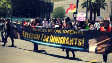 migranti polemica donald trump