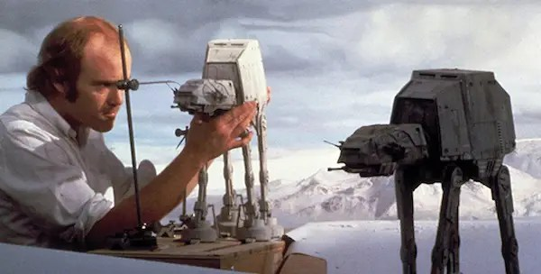 stop motion star wars