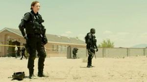 Emily Blunt è l'agente FBI Kate nel film