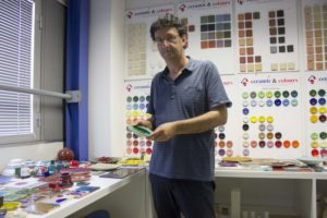 Gian Piero Merendi, presidente della Ceramic & Colours