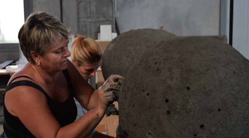 making Globorotalia, Barbara De Ponti e Aida Bertozzi, 2016