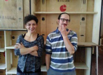 Cristina d'Alberto e Lorenzo Paganelli