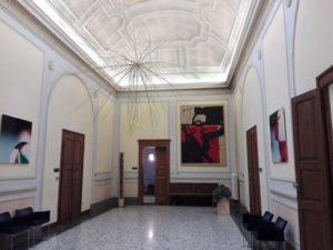 Il Must di Faenza è stato inaugurato nel 2016 e conta - con quella di Ugo Nespolo - 60 opere contemporanee