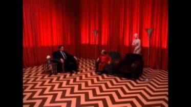 """La celebre """"stanza rossa"""" della serie Twin Peaks"""