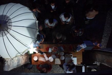 Cena itinerante liceo 1