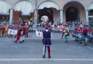 Daniele Geminiani palio