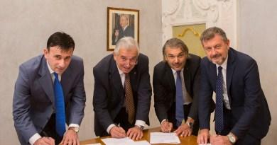 bcc firma presidente con tre confartigianato 04 ottobre 2017