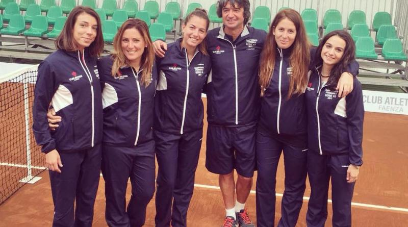 tennis club faenza squadra a1 femminile 2017