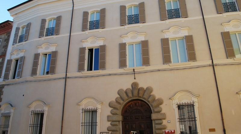 Facciata Palazzo Naldi sede Fondazione