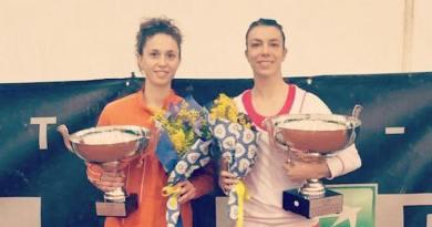 Alice Balducci a destra, con la finalista Chiara Mendo